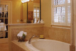 Luxury House Plan Master Bathroom Photo 02 - 024S-0001 | House Plans and More