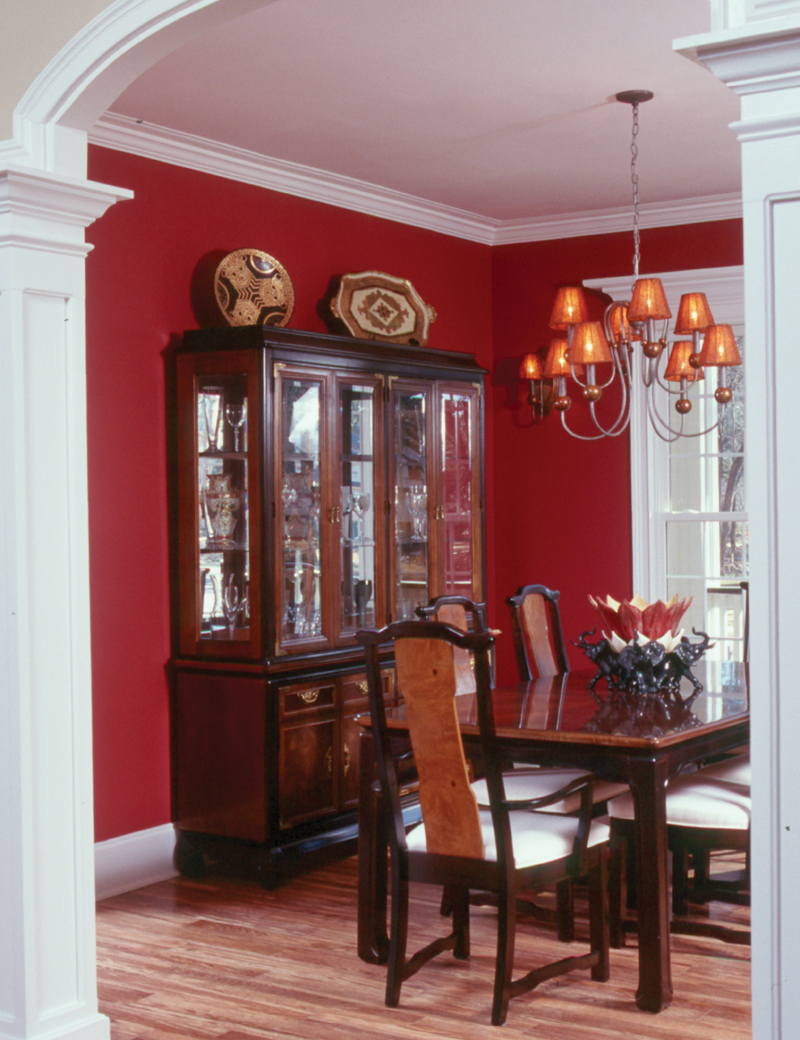 Cape Cod and New England Plan Dining Room Photo 01 024S-0003