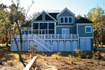 Lowcountry Home Plan Rear Photo 02 - 024S-0003 | House Plans and More