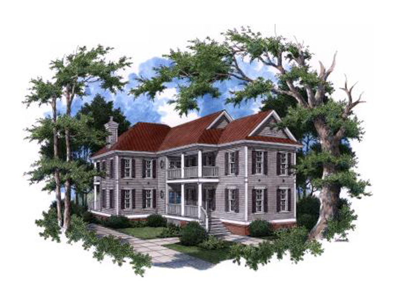 Luxury Plantation-Style Farmhouse