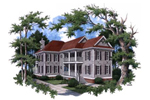 Luxury Plantation-Style Farmhouse