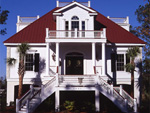 Raised Southern Lowcountry Home With A Custom Feel