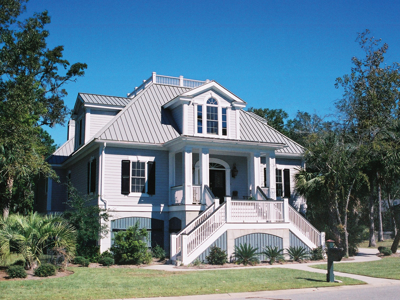 Stunning Raised Charleston Style Luxury Home
