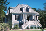 Colonial Floor Plan Front Photo 03 - 024S-0012 | House Plans and More