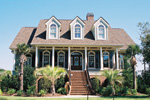 Impressive Raised Southern Lowcountry Home