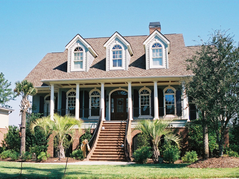 Low country house plans southern low country style house for Low country house plans