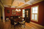 Colonial House Plan Dining Room Photo 01 - 024S-0021 | House Plans and More
