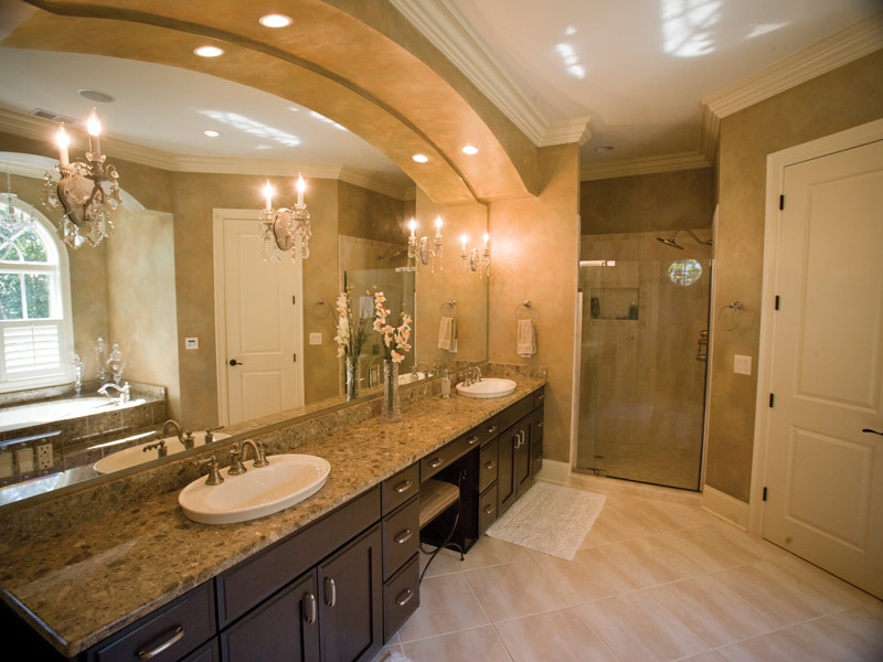 Florida House Plan Master Bathroom Photo 01 - 024S-0021 | House Plans and More