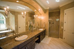 Waterfront Home Plan Master Bathroom Photo 01 - 024S-0021 | House Plans and More