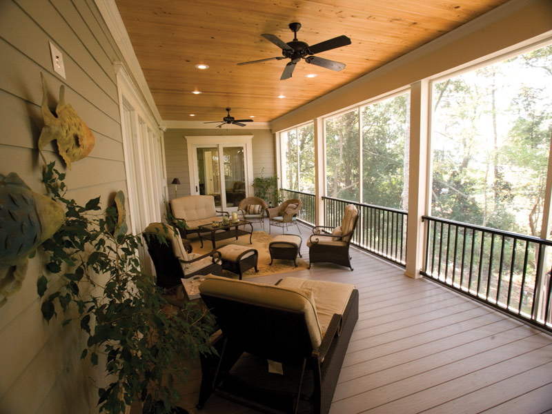 Sunbelt Home Plan Porch Photo 01 024S-0021
