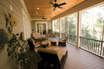 Lowcountry Home Plan Porch Photo 01 - 024S-0021 | House Plans and More