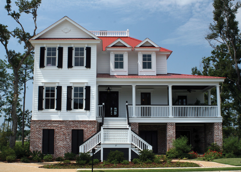Raised Luxury Southern Home