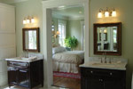 Colonial Floor Plan Master Bathroom Photo 02 - 024S-0022 | House Plans and More