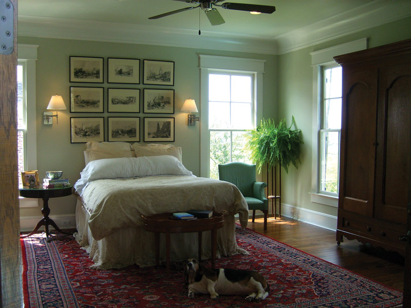Lowcountry Home Plan Master Bedroom Photo 01 024S-0022