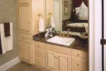Colonial Floor Plan Bathroom Photo 01 - 024S-0023 | House Plans and More