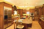 Greek Revival Home Plan Kitchen Photo 03 - 024S-0023 | House Plans and More