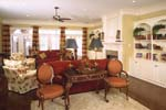 Greek Revival Home Plan Living Room Photo 01 - 024S-0023 | House Plans and More