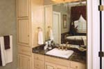 Luxury House Plan Master Bathroom Photo 01 - 024S-0023 | House Plans and More