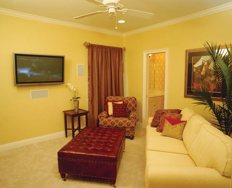 Greek Revival Home Plan Media Room Photo 01 024S-0023