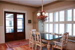 Craftsman House Plan Dining Room Photo 01 - 024S-0024 | House Plans and More