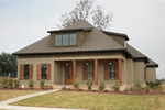 Craftsman House Plan Front of Home - 024S-0024 | House Plans and More
