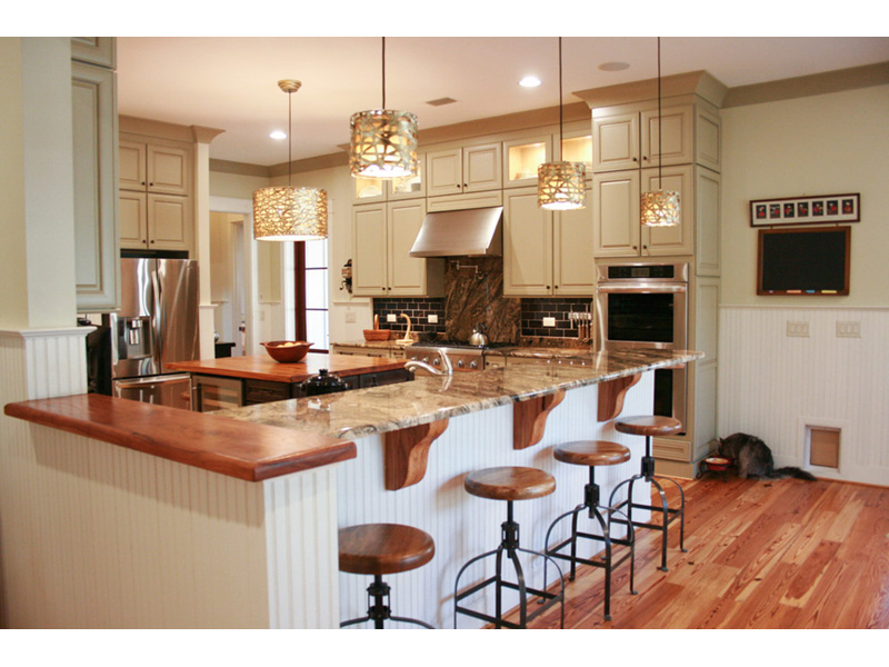 Traditional House Plan Kitchen Photo 05 - Hamilton Creek Green Home 024S-0024 | House Plans and More