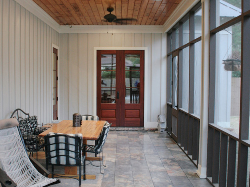 Traditional House Plan Porch Photo 02 - Hamilton Creek Green Home 024S-0024 | House Plans and More