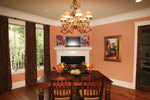 Country French House Plan Breakfast Room Photo 01 - 024S-0025 | House Plans and More