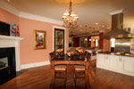 Waterfront Home Plan Breakfast Room Photo 03 - 024S-0025 | House Plans and More