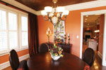 Country French Home Plan Dining Room Photo 01 - 024S-0025 | House Plans and More