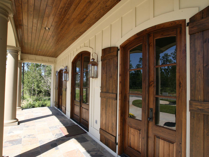 Country French Home Plan Door Detail Photo 024S-0025