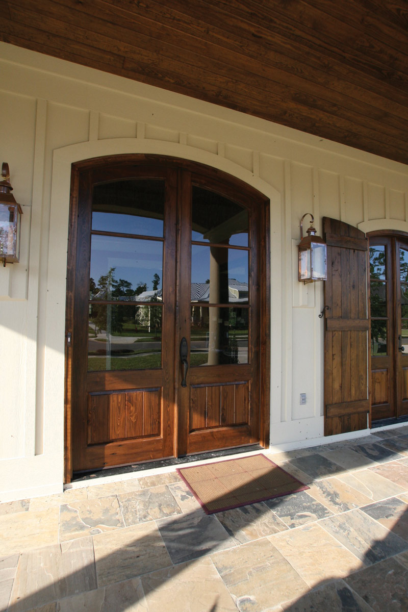 Country French Home Plan Door Detail Photo 02 024S-0025