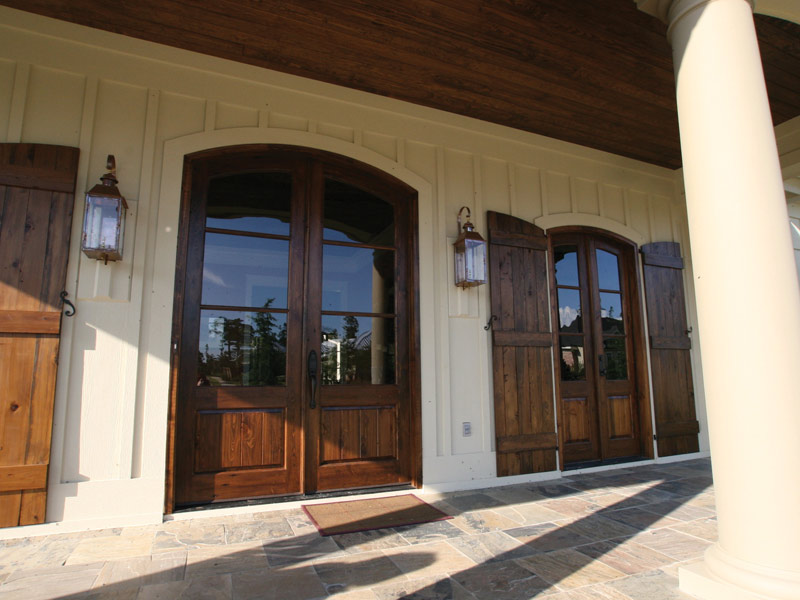 Country French Home Plan Door Detail Photo 04 024S-0025