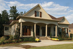 Waterfront Home Plan Front of Home - 024S-0025 | House Plans and More