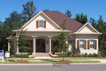 Country French Home Plan Front of Home Photo 12 - 024S-0025 | House Plans and More