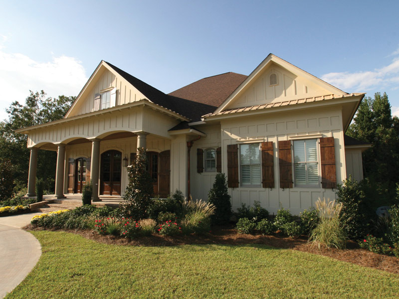 Country French Home Plan Front Photo 02 024S-0025