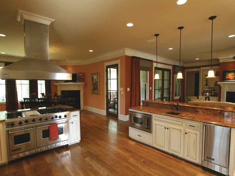 Country French Home Plan Kitchen Photo 10 024S-0025