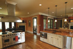 Country French Home Plan Kitchen Photo 10 - 024S-0025 | House Plans and More