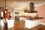 Country French Home Plan Kitchen Photo 14 - 024S-0025 | House Plans and More
