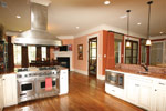 Country French House Plan Kitchen Photo 06 - 024S-0025 | House Plans and More