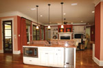 Waterfront Home Plan Kitchen Photo 07 - 024S-0025 | House Plans and More