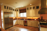 Country French Home Plan Kitchen Photo 08 - 024S-0025 | House Plans and More