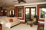 Arts and Crafts House Plan Living Room Photo 10 - 024S-0025 | House Plans and More