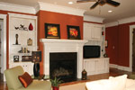 Arts and Crafts House Plan Living Room Photo 12 - 024S-0025 | House Plans and More