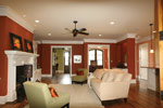 Arts and Crafts House Plan Living Room Photo 03 - 024S-0025 | House Plans and More