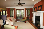 Waterfront Home Plan Living Room Photo 05 - 024S-0025 | House Plans and More