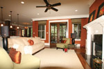 Southern House Plan Living Room Photo 06 - 024S-0025 | House Plans and More