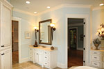 Country French Home Plan Master Bathroom Photo 01 - 024S-0025 | House Plans and More