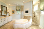 Country French Home Plan Master Bathroom Photo 10 - 024S-0025 | House Plans and More