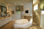 Country French House Plan Master Bathroom Photo 11 - 024S-0025 | House Plans and More